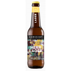 Horizont Brewing Herr Lager 0,33l - Selection.hu