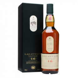 Lagavulin single malt whisky 16 éves