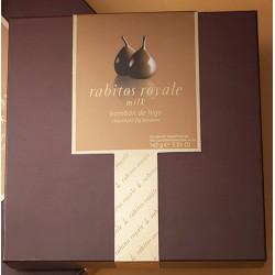 Rabitos Royale Sós-karamellás Tejcsokoládés 8 darabos