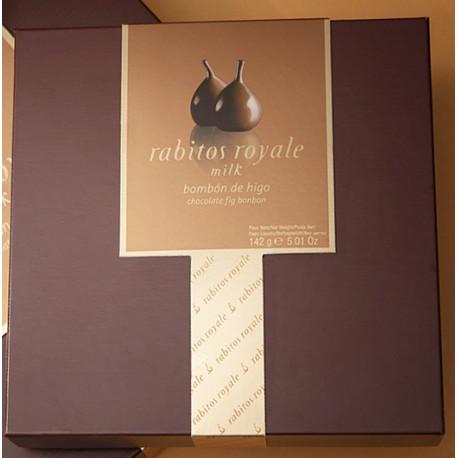 Rabitos Royale Sós-karamellás Tejcsokoládés 9 darabos