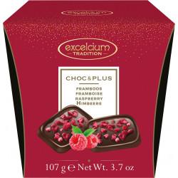 Hamlet Excelcium Choc & Plus étcsokoládé málnával 107g