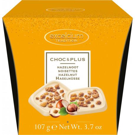 Hamlet Excelcium Choc & Plus fehércsokoládé mogyórval 107g