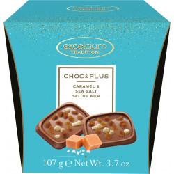 Hamlet Excelcium Choc & Plus tejcsokoládé sós-karamella darabokkal 107g
