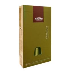 Caffé Mauro Prémium kávékapszula 10 db (Nespresso kompatibilis)