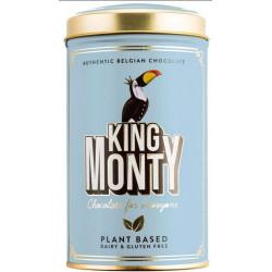 King Monty Classic Cacao Pop Rice - csokoládé pálcikák fém díszdobozban 130g - Selection.hu