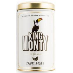 King Monty Classic Cacao - tejcsokoládé pálcikák fém díszdobozban 130g