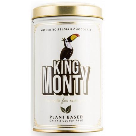 King Monty Classic Cacao - csokoládé pálcikák fém díszdobozban 130g - Selection.hu