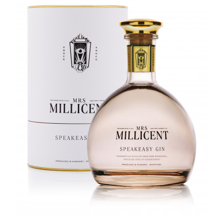 Bestillo Mrs Millicent Gin 0,7l + díszdoboz - Selection.hu