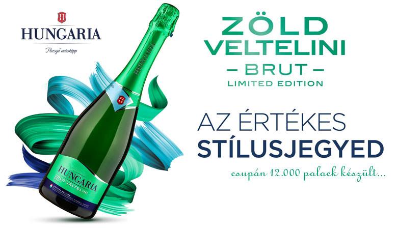 Hungaria Zöldveltelini Brut Special Edition