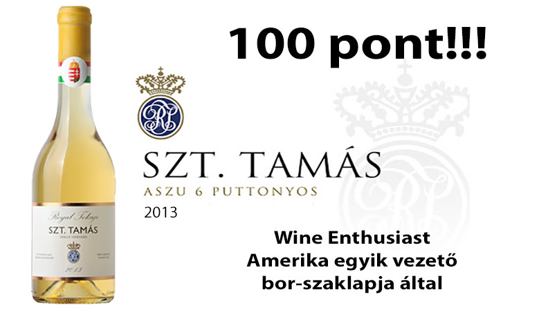 Royal Tokaji 100 pont