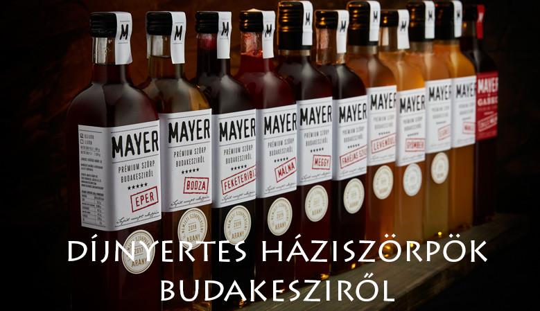 Mayer szörpök kínálatunkban - Selection.hu